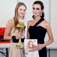 Lucie Průžková mistryně ČR v make-upu