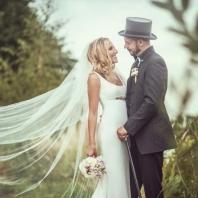 Nevěsta v haute couture ateliérovkách Edurne