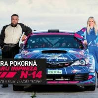 NUANCE pro mistryni ČR v rally Sandru Pokornou