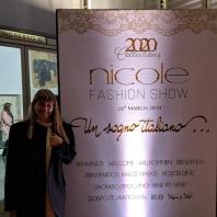 NUANCE jediná z ČR na Nicole Milano Fashion show 2020
