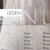 Kalendář Pronovias 2012