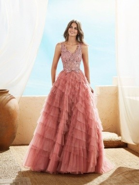 PROM DRESS 2020 Marfil by Rosa Clará 3j2f7