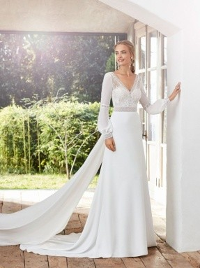 WEDDING DRESS 2020 Rosa Clará Caimad