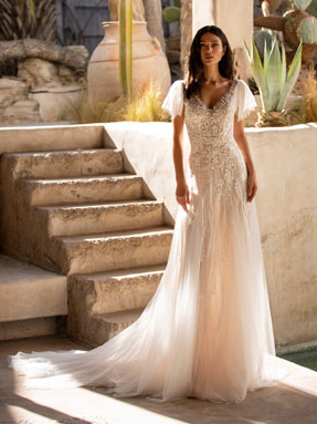 WEDDING DRESSES Pronovias Lake 2021