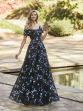 EVENING DRESSES Marha Blanc by Rosa Clará 5v108 2022