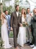 Pánské obleky Wilvorst GreenWedding look11 2019