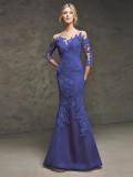 Společenské šaty Pronovias Laurina Blue 2016