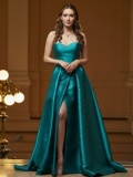 PROM DRESSES Pronovias Taona Green 2020