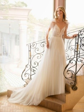 WEDDING DRESS 2020 Rosa Clará Rebeca