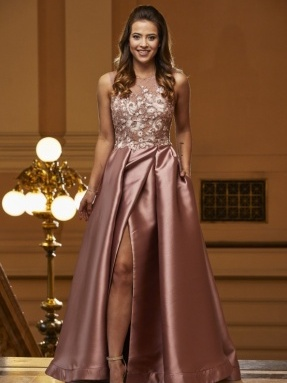PROM DRESS 2020 Pronovias Tasila Blushpink