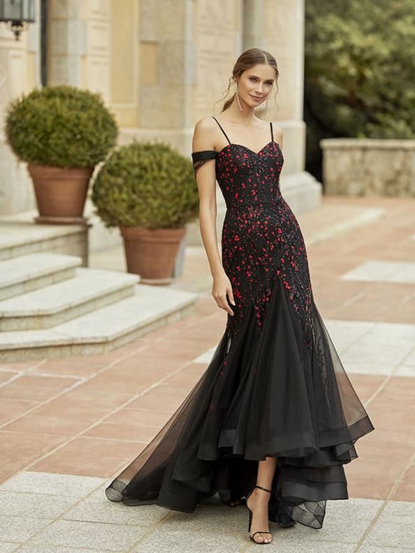 Společenské šaty Marha Blanc by Rosa Clará 5v101 2022