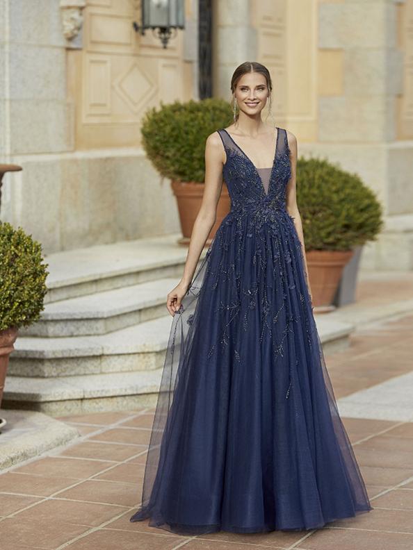 Společenské šaty Marha Blanc by Rosa Clará 5V111 2022