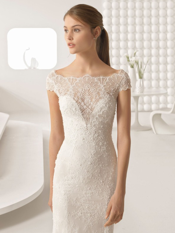 Svatební šaty Rosa Clará Ada 2018