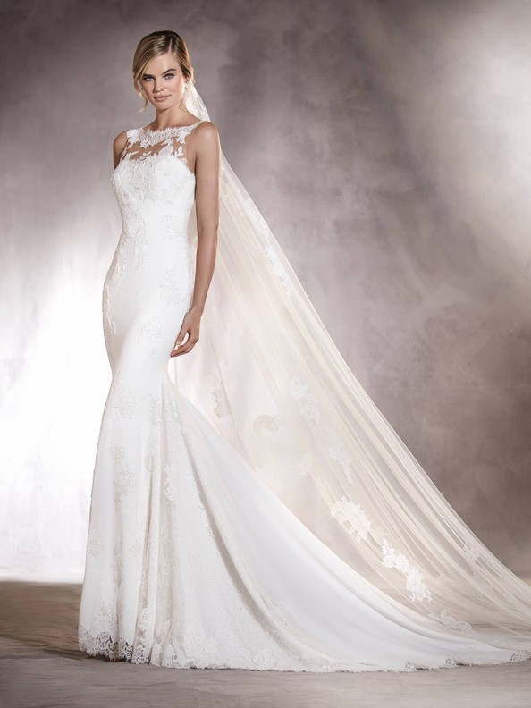 Svatební šaty Pronovias Agata 2018