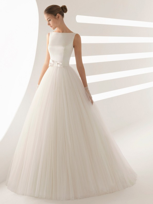 Svatební šaty Rosa Clará Aida 2019