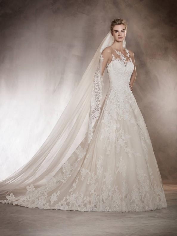 Svatební šaty Pronovias Angelica 2017