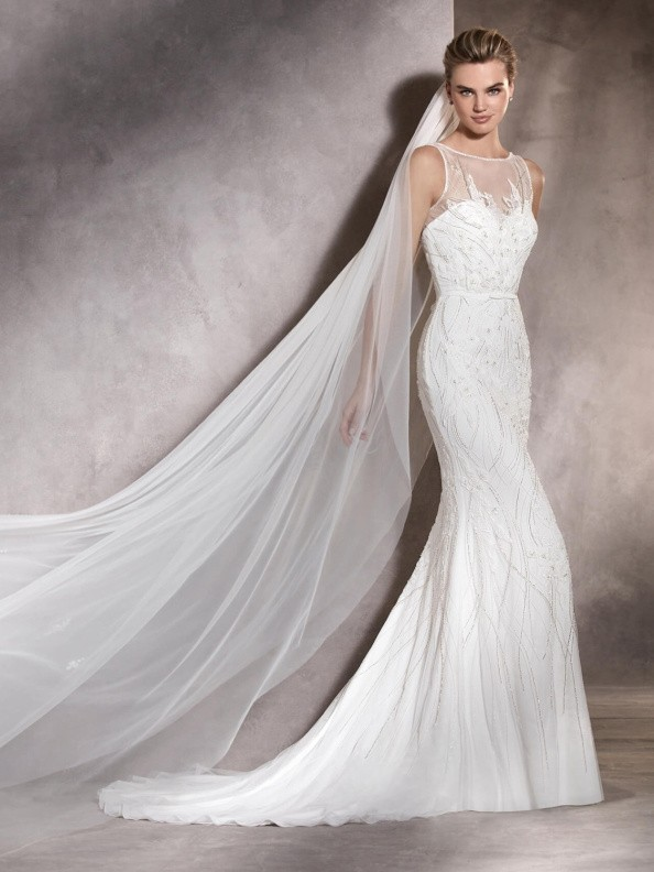 Svatební šaty Pronovias Ashley 2017