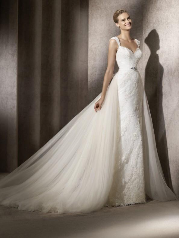 Svatební šaty Pronovias Balta 2015