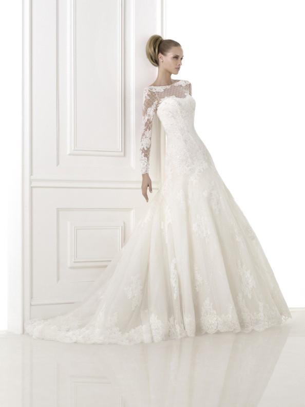 Svatební šaty Pronovias Bastiana 2018