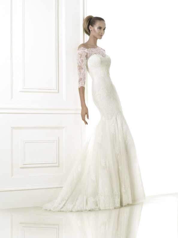 Svatební šaty Pronovias Bellamy 2015