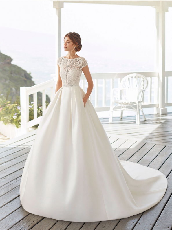 WEDDING DRESSES Rosa Clará Calea 2021