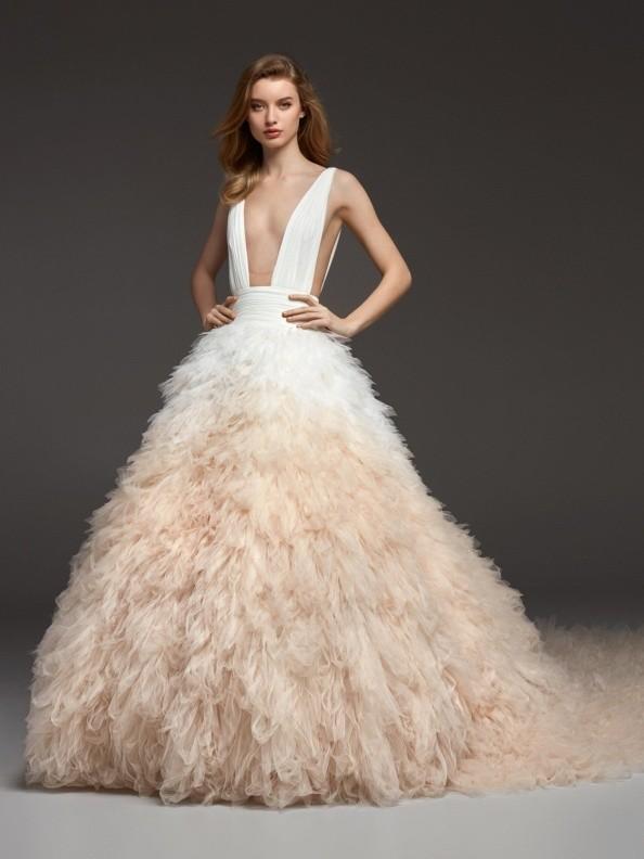 Svatební šaty Atelier Pronovias Clemence 2019