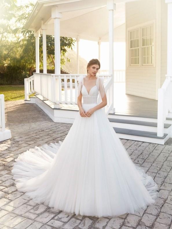 Svatební šaty Rosa Clará Covan 2020