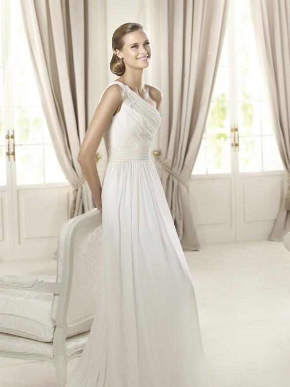 Svatební šaty Pronovias Dacio 2015