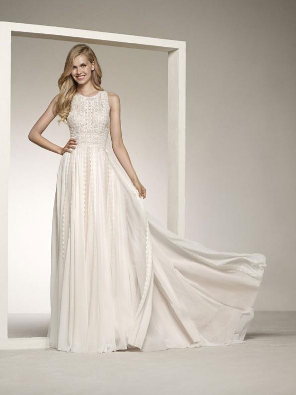 Svatební šaty Pronovias Darian 2019