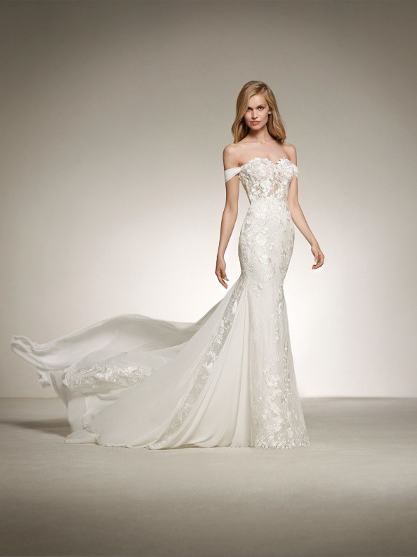 Svatební šaty Pronovias Davinia 2018
