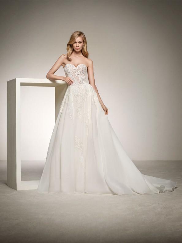 Svatební šaty Pronovias Dinara 2018