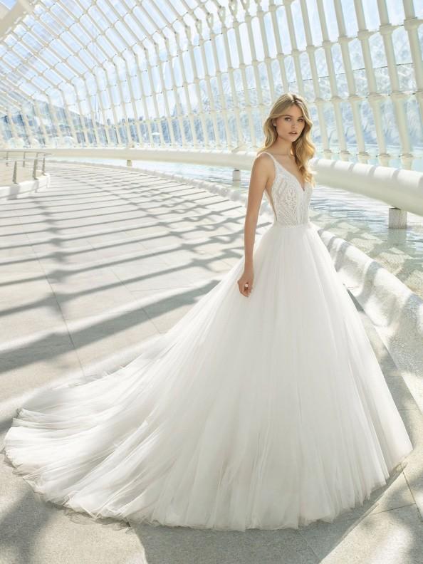 Svatební šaty Rosa Clará Doe 2019
