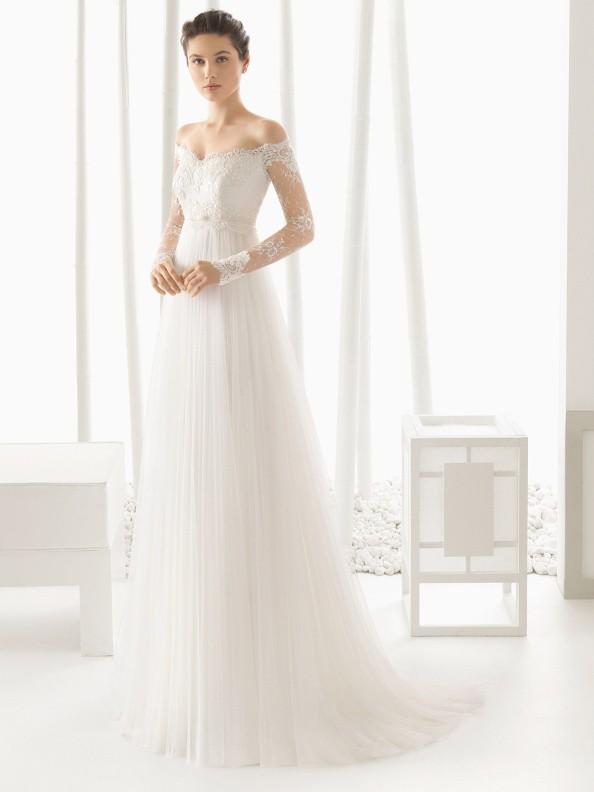 Svatební šaty Rosa Clará Dominic 2018
