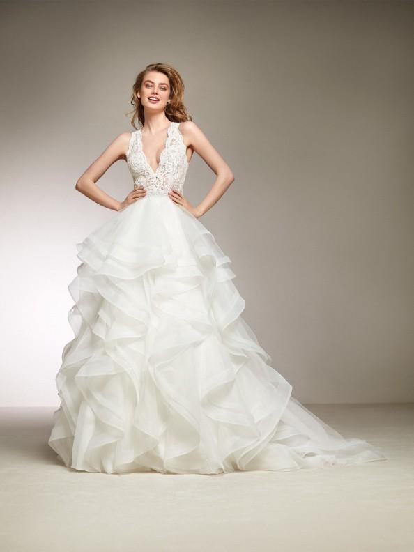 Svatební šaty Pronovias Dora 2018