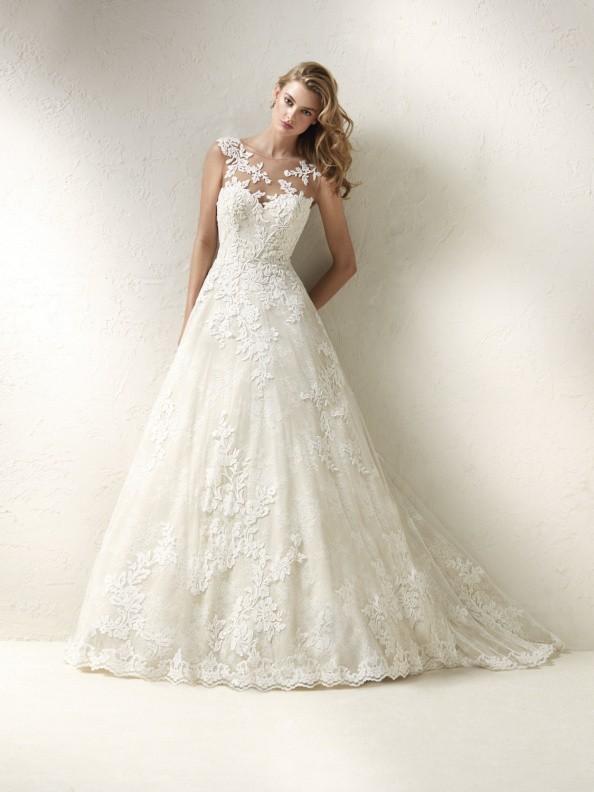 Svatební šaty Pronovias Dracme 2018
