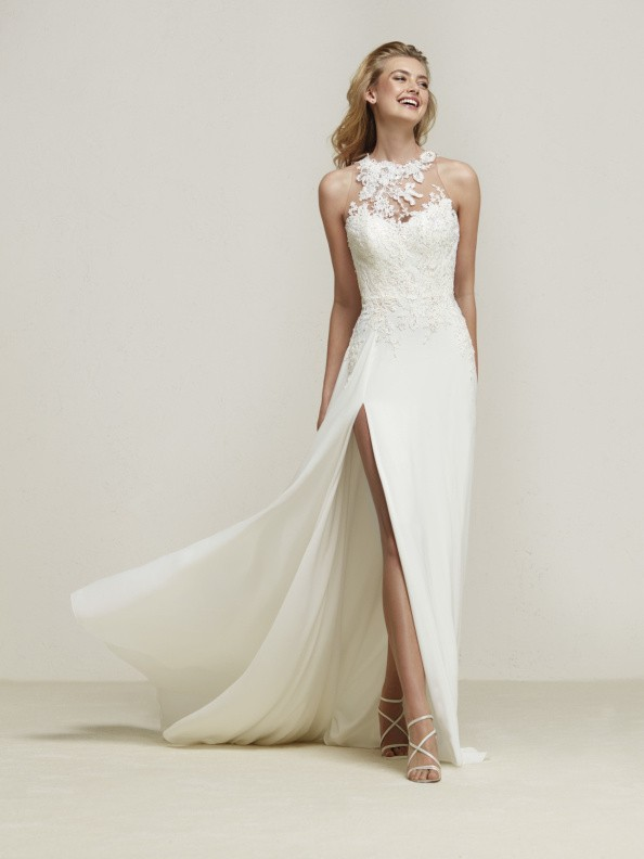 Svatební šaty Pronovias Dramis 2018
