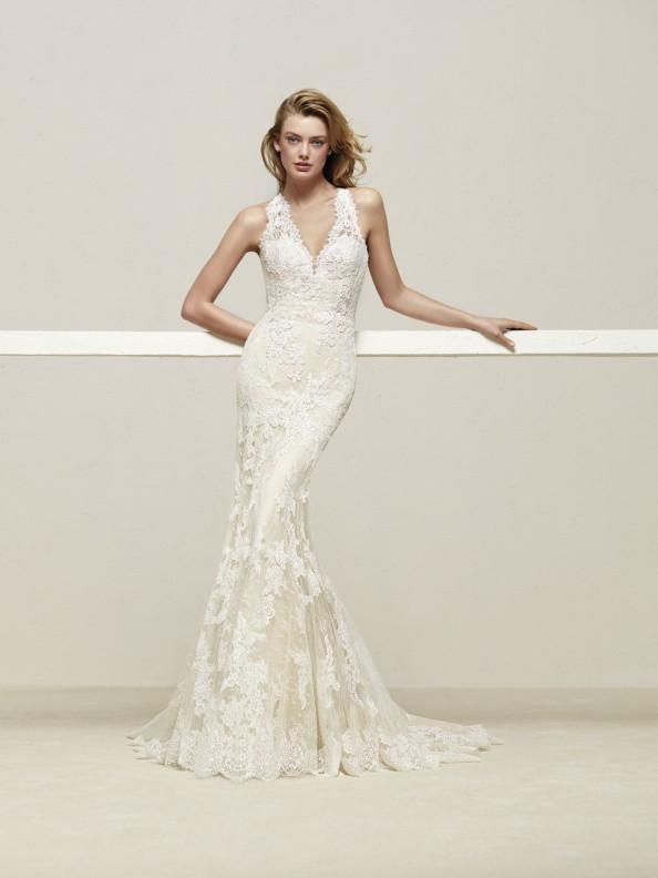 Svatební šaty Pronovias Drilos 2018