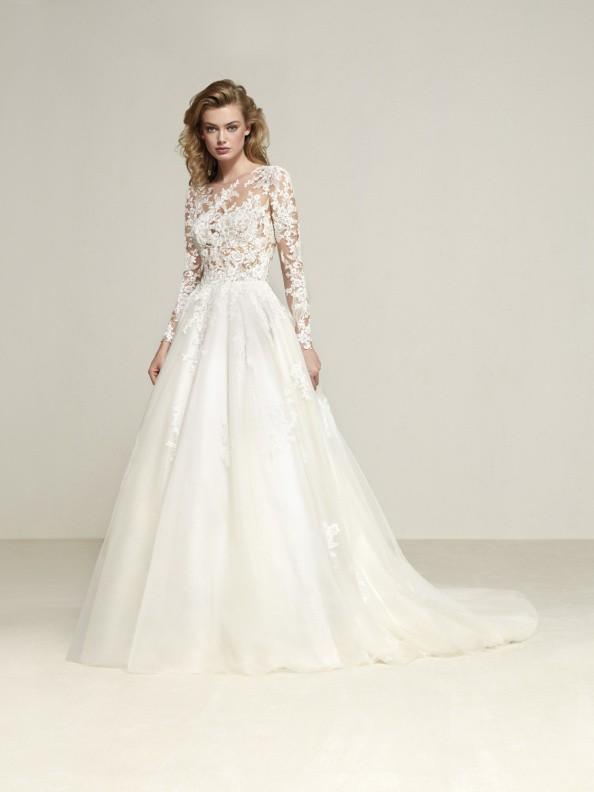 Svatební šaty Pronovias Drizana 2018