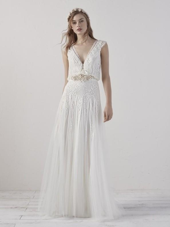Svatební šaty Pronovias Eco 2019