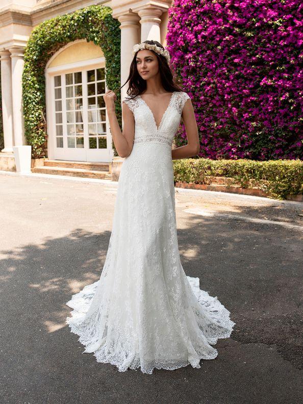 Svatební šaty Pronovias Ederne 2019