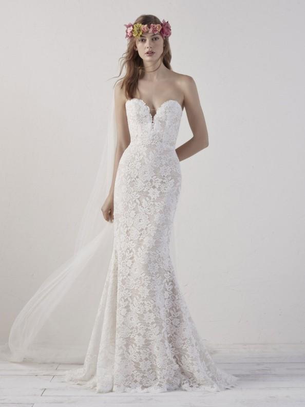 Svatební šaty Pronovias Eithel 2019