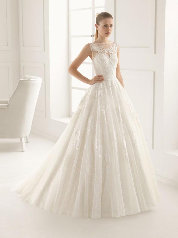 Svatební šaty Rosa Clará Elda 2016