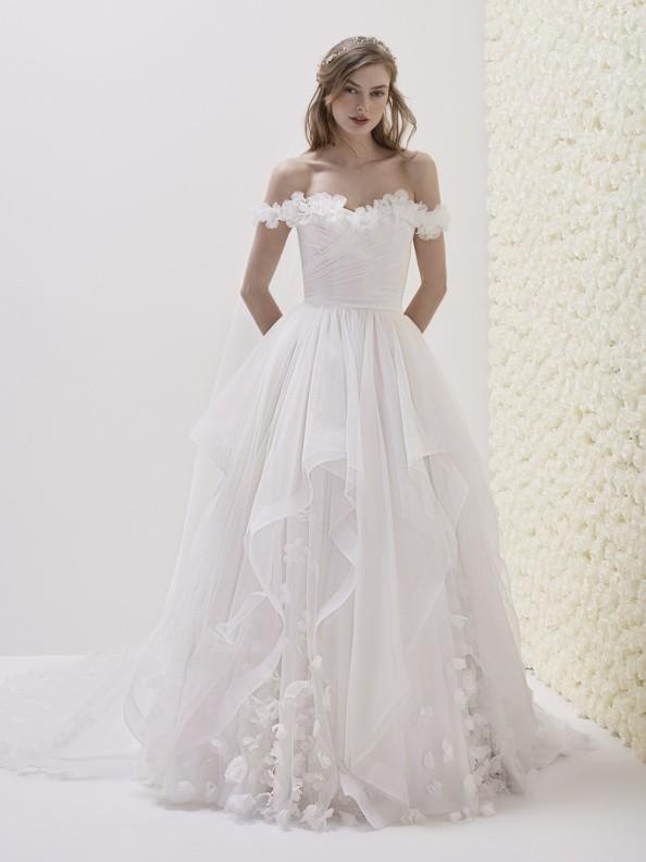 Svatební šaty Pronovias Elodia 2019