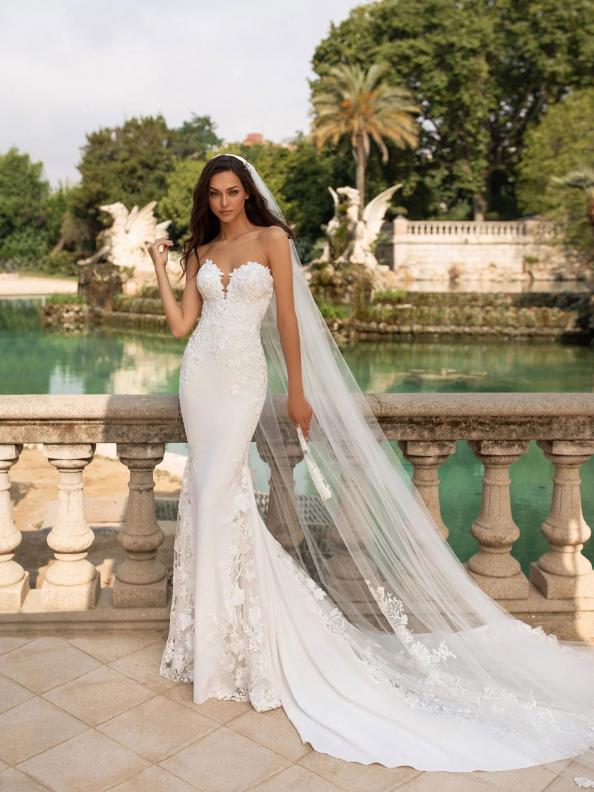 Svatební šaty Pronovias Epico 2019