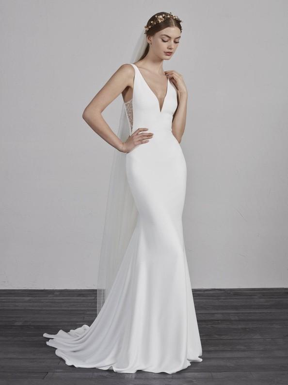 Svatební šaty Pronovias Estilo 2019