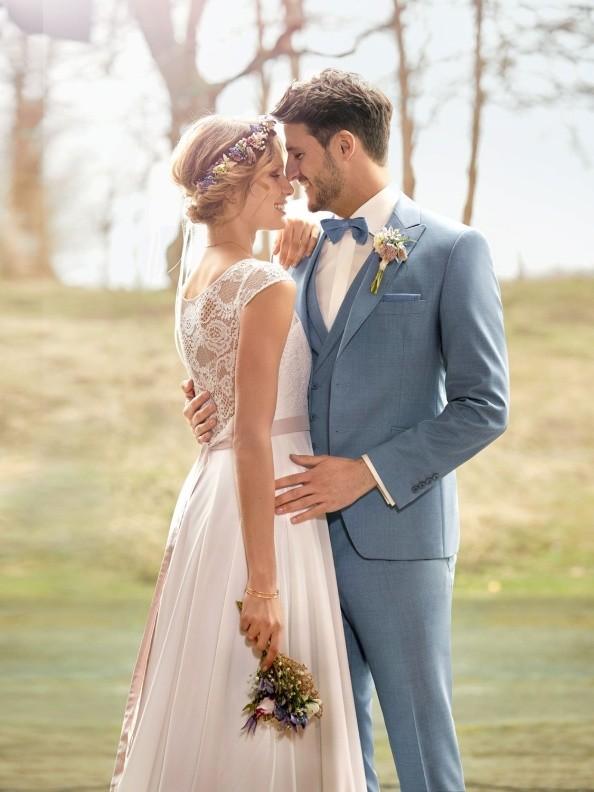 Pánské obleky Wilvorst GreenWedding look1 2019