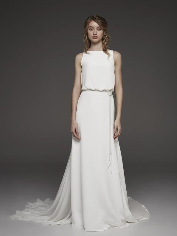 Svatební šaty Atelier Pronovias Harpe 2019