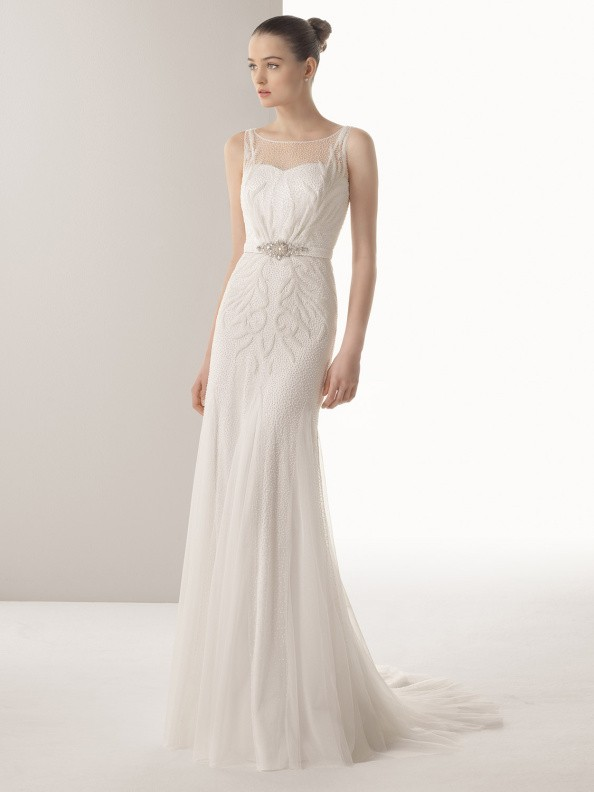 Svatební šaty Rosa Clará Iana 2016