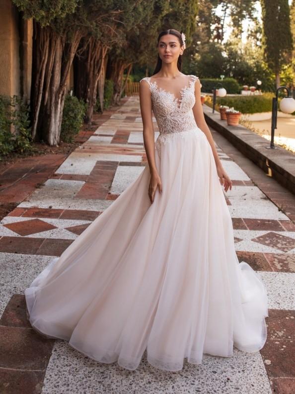 Svatební šaty Pronovias Io 2020