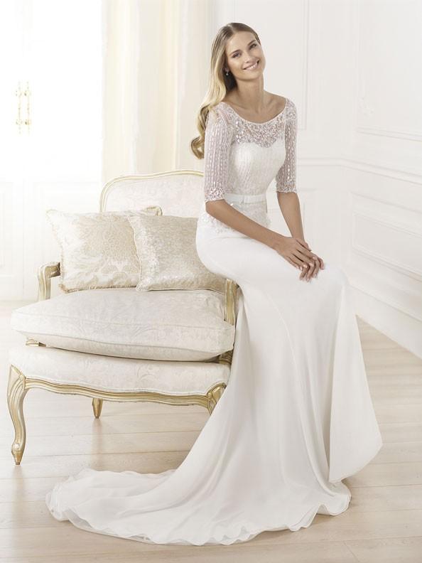 Svatební šaty Pronovias Laima 2015